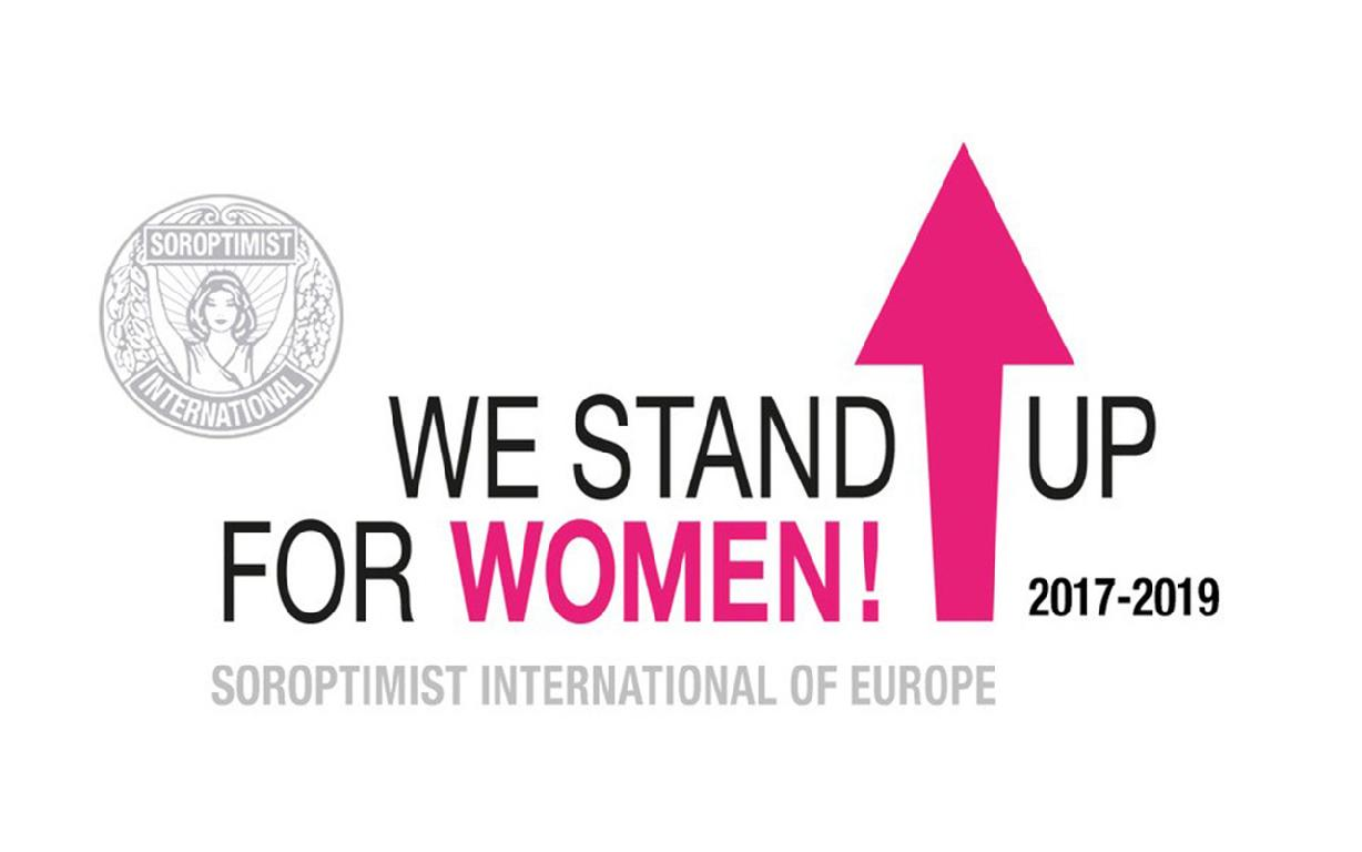 Soroptimisten We stand up for woman